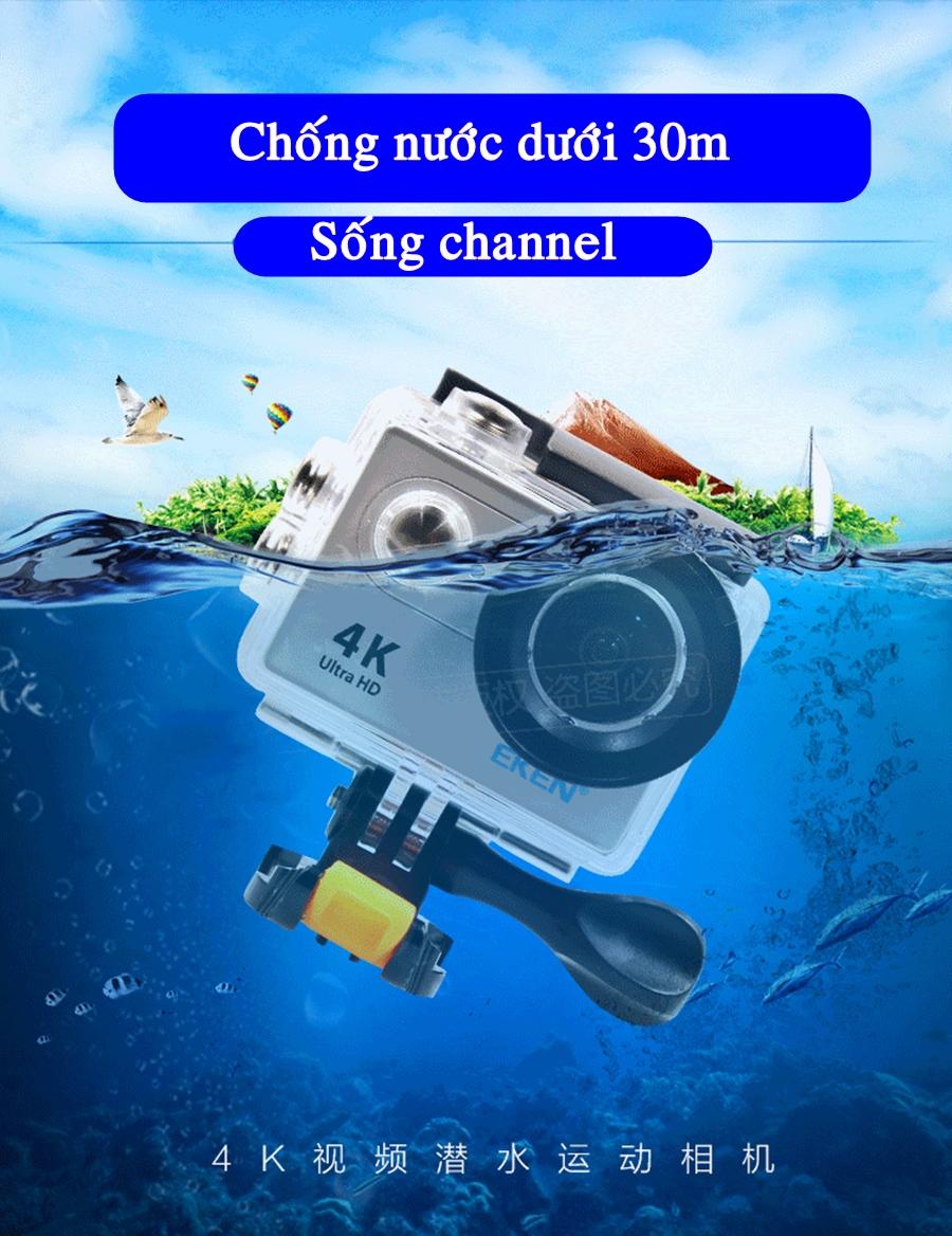camera eken h9r chống nước sâu 30m