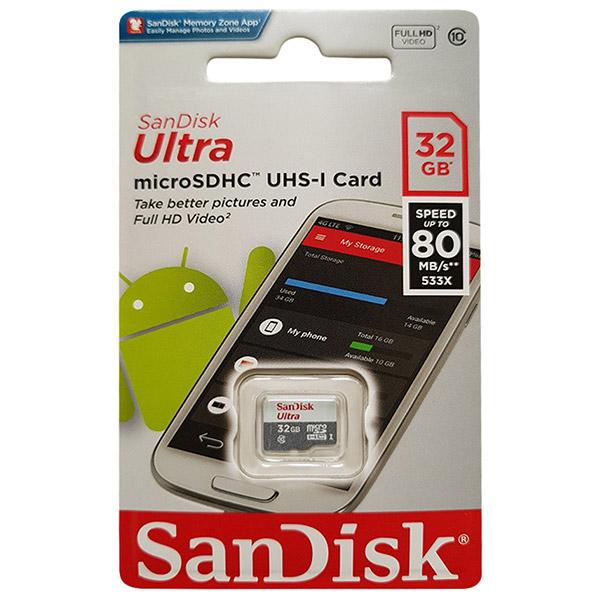 thẻ sandisk 32gb chính hãng