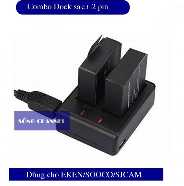 COMBO DOCK SAC + 2PIN