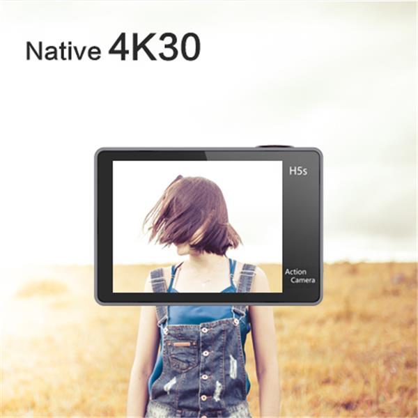 màn hình cảm ứng 2 inch của camera Eken H5S