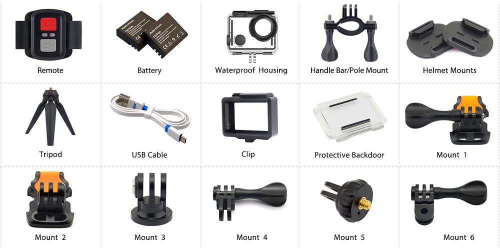 phụ kiện camera eken h5s