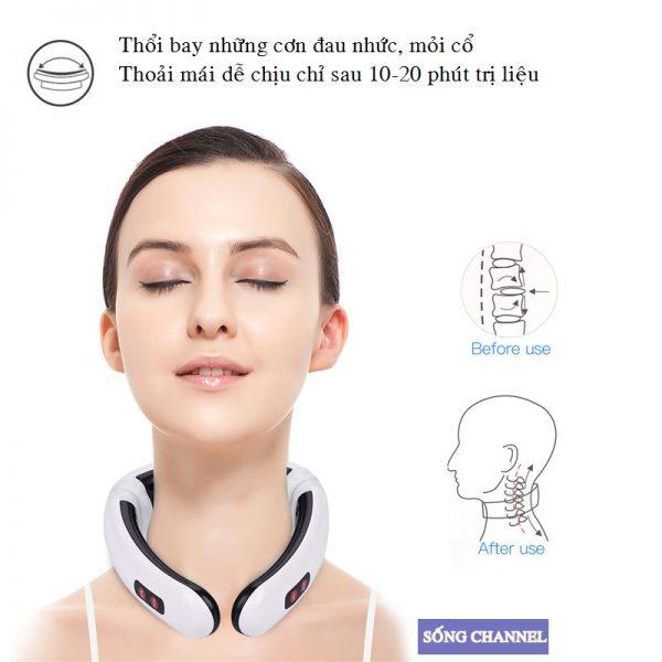 chuyên trị các cơn cột sống, vai gáy