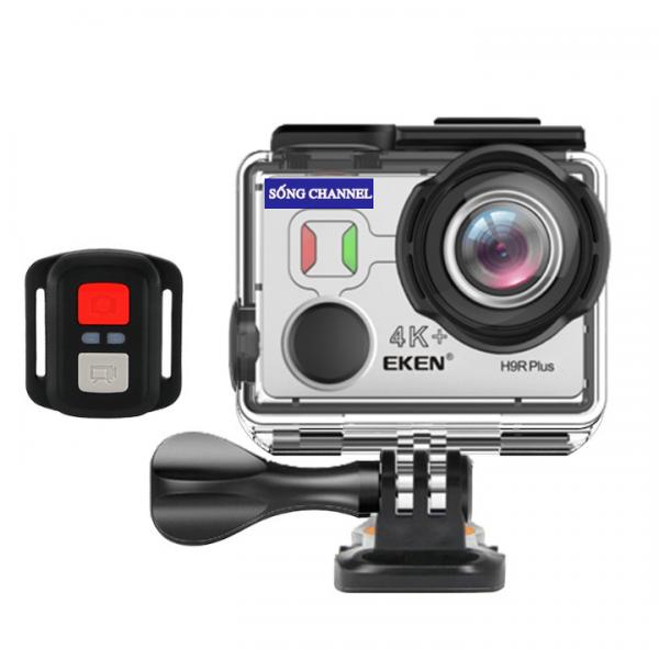 Camera Eken H9R Plus có kèm theo remote điều khiển từ xa