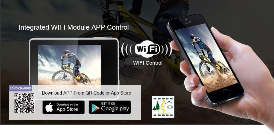 Kết nối với điện thoại qua Wifi