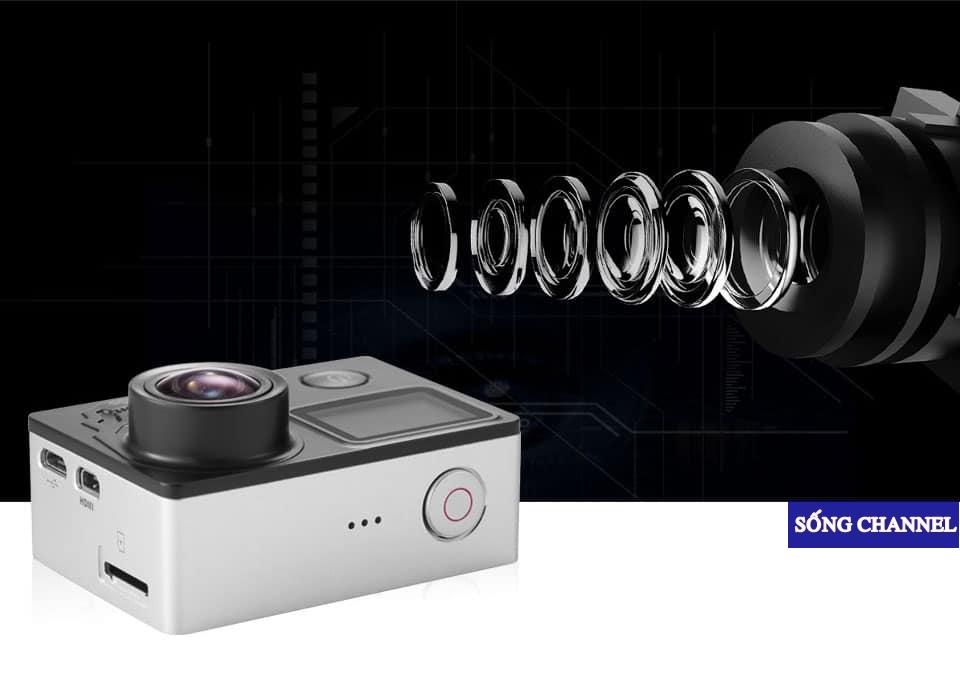 Cảm Biến Sony IMX 078, Ống Kính Góc Rộng