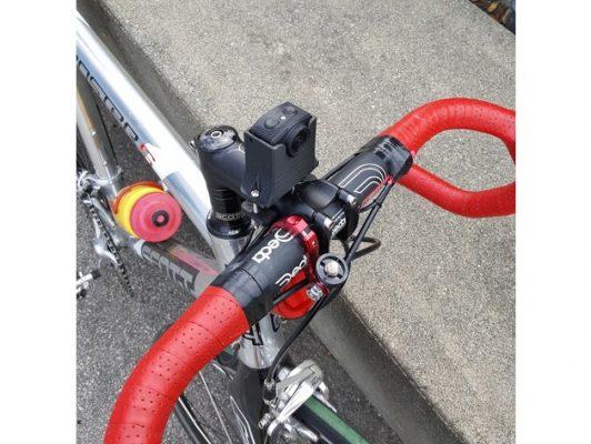 Gắn camera SJcam M20 lên xe đạp