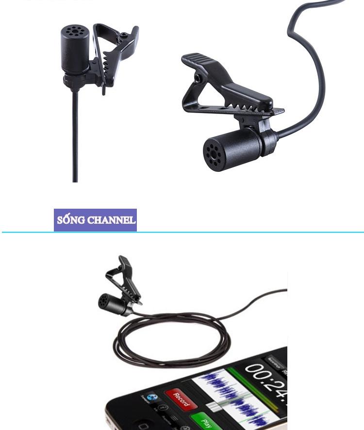mic boya BY-M1 có 02 chế độ