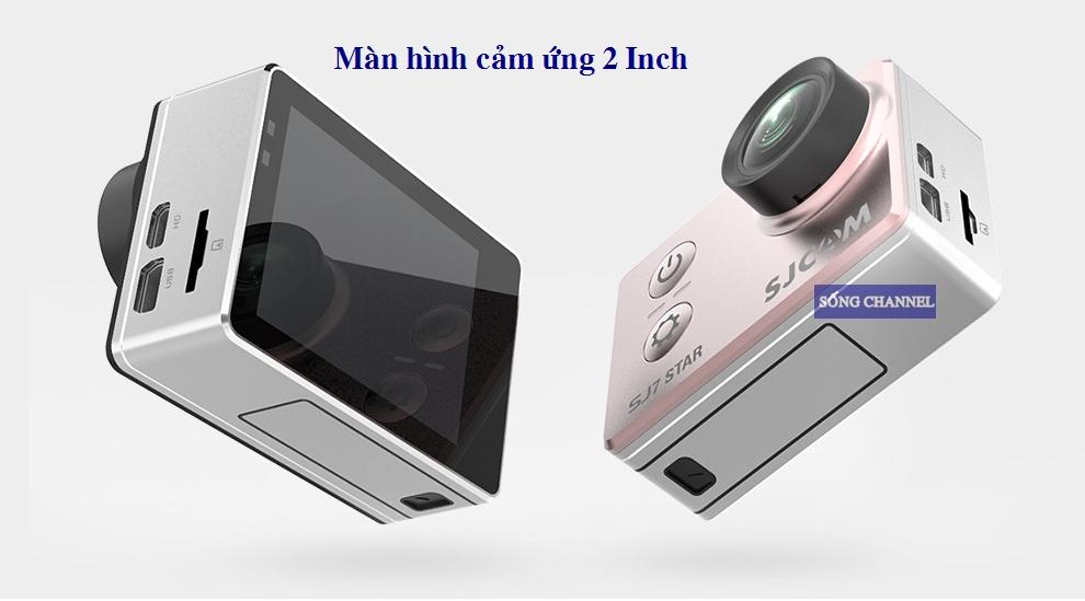 sj7 Star được trang bị màn hình cảm ứng 2 inch
