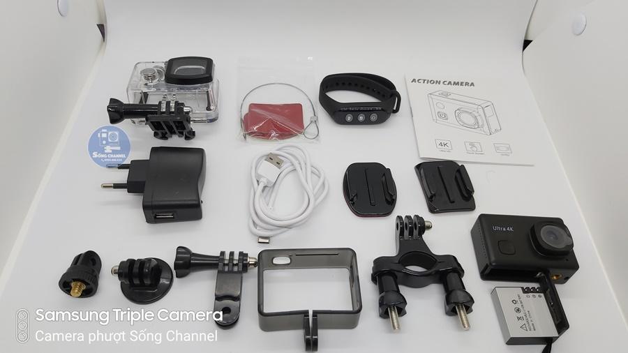 bộ phụ kiện full box của Camera SC-2
