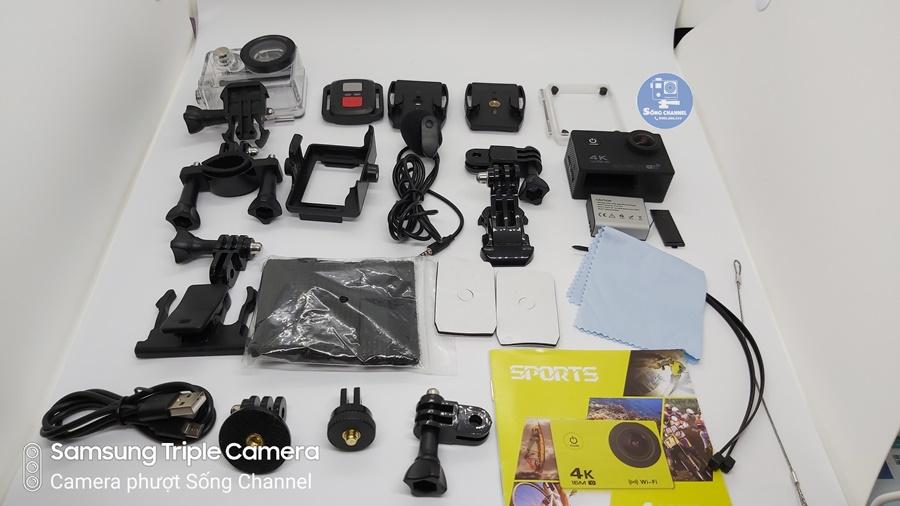 Bộ phụ kiện full box Camera SC-M100