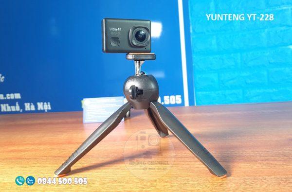 Yunteng YT-228 dùng có Action Camera
