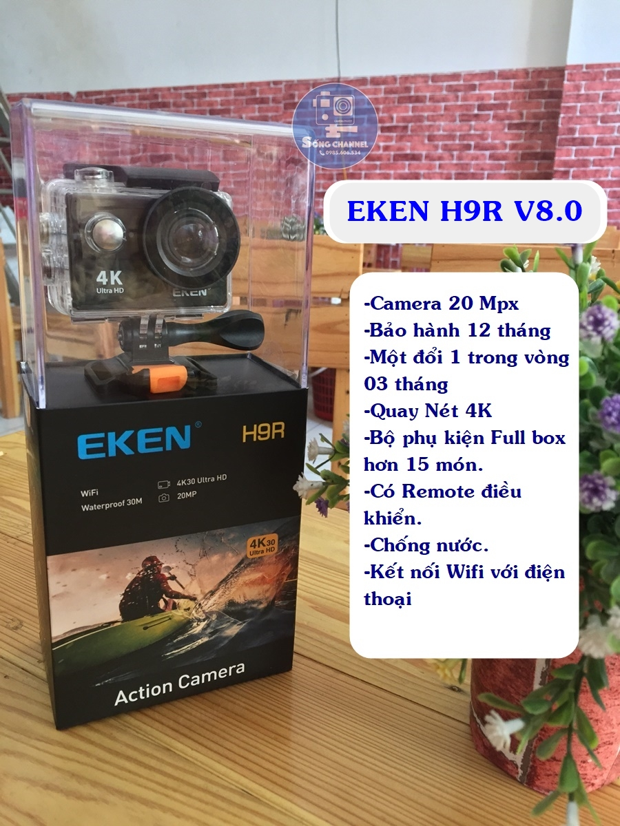 camera eken h9r v8.0