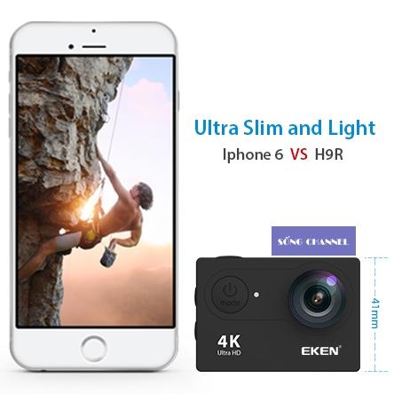 camera eken h9r điều khiển bằng điện thoại thông minh qua wifi