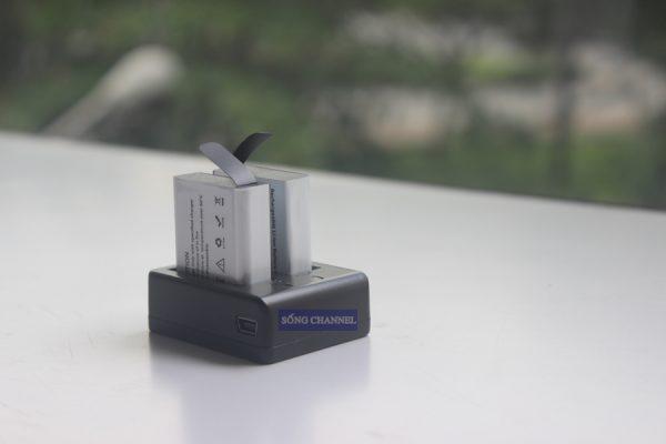 pin 1350 mah cho camera Eken, Sjcam, SC-1, SooCoo