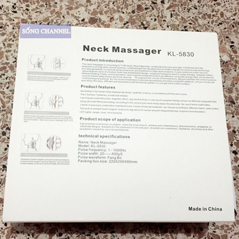 máy massage cổ 3d