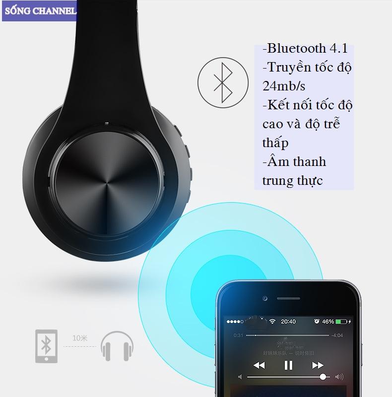 tai nghe kết nối Bluetooth cực nhanh, trong phạm vi 10m