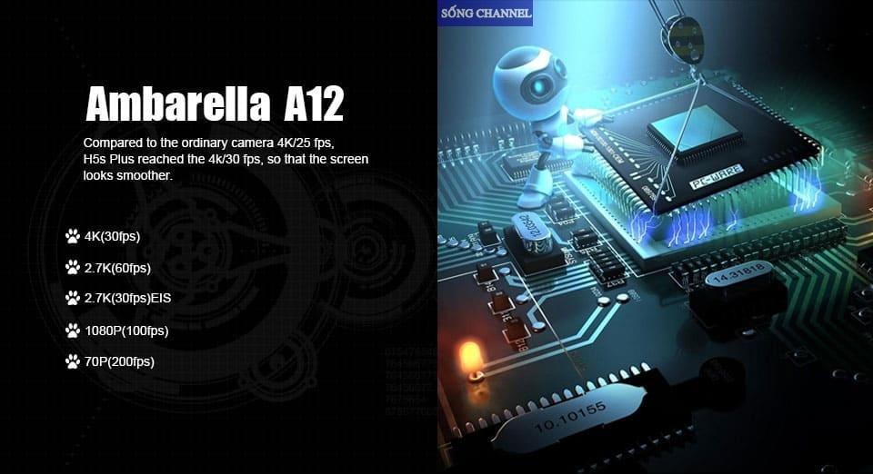 bộ vi xử lý Ambarella A12