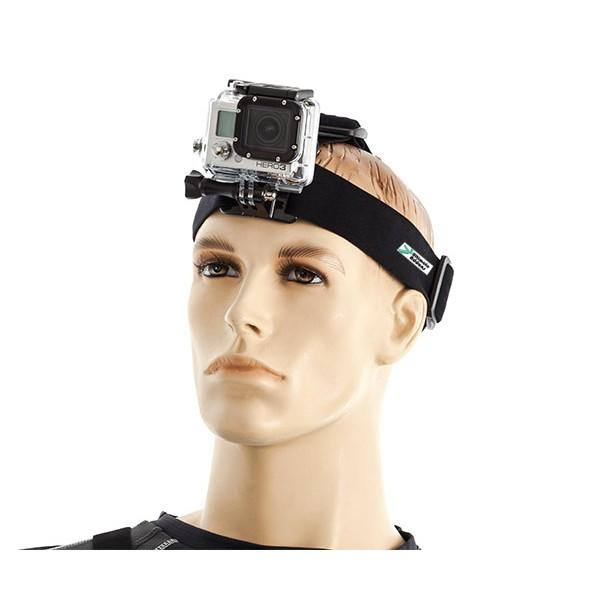 Gắn camera hành động lên đầu
