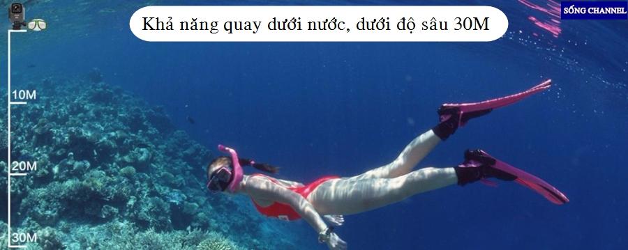 Sjcam M20 có khả năng quay dưới nước