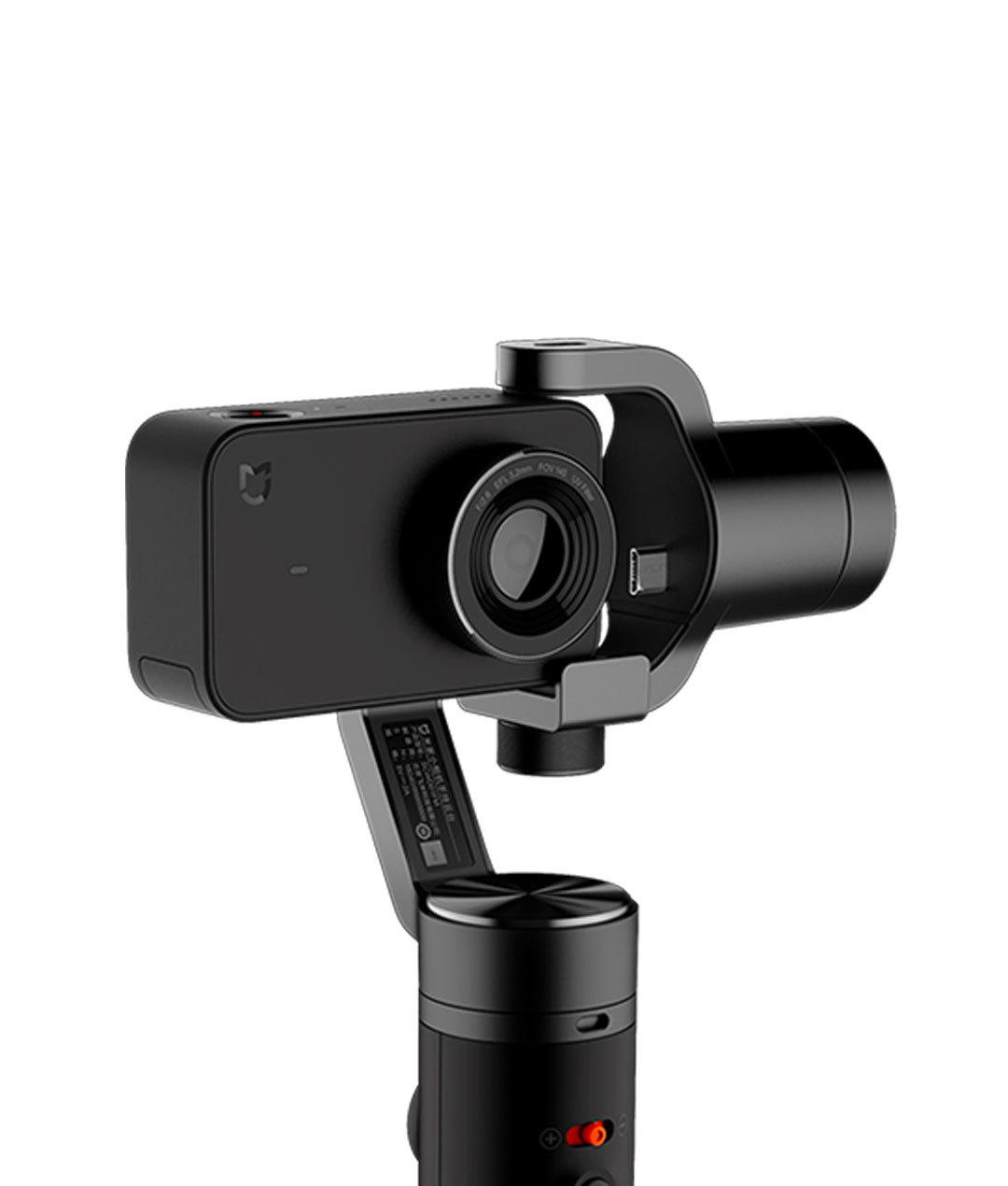 dùng gymbal chống rung cho camera hành động