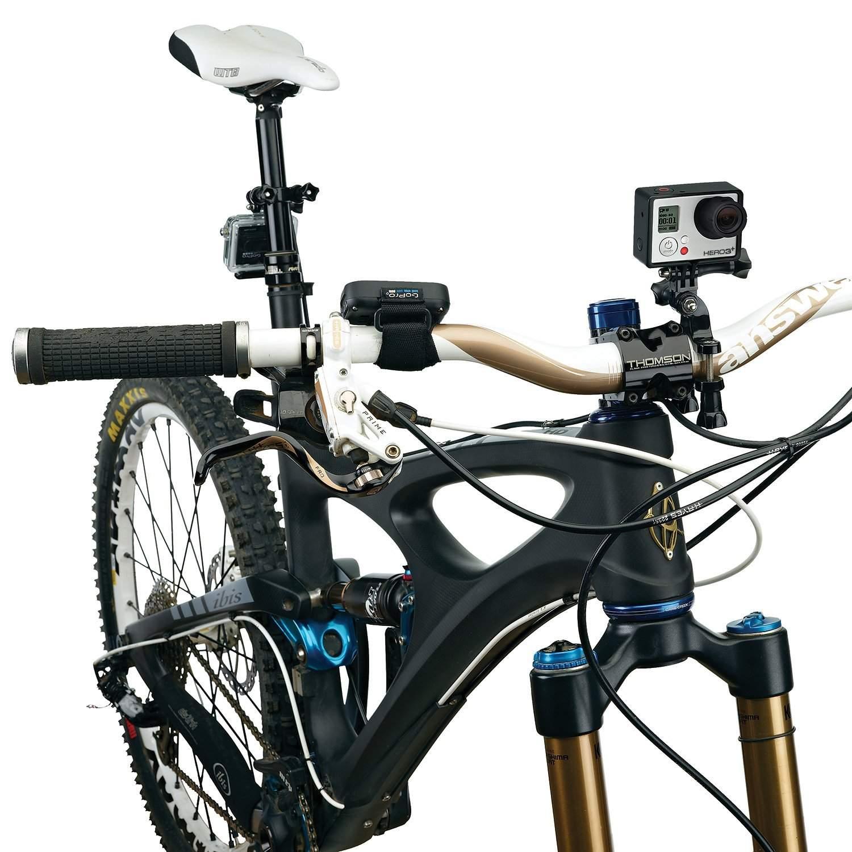 Gắn camera hành động lên xe đạp