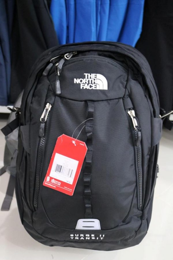 ba lô the North Face Surger II Transit Black Pack