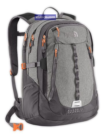 ba lô the north face surge II transit màu xám