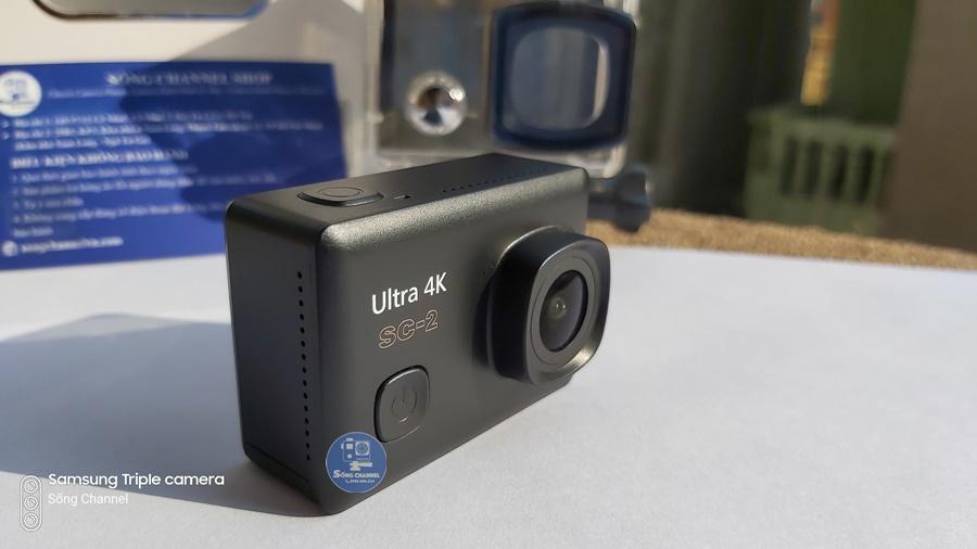 Camera SC-2- Chống Rung EIS- Màn Hình Cảm Ứng