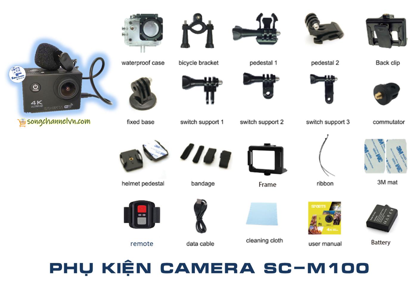 phụ kiện camera SC-M100