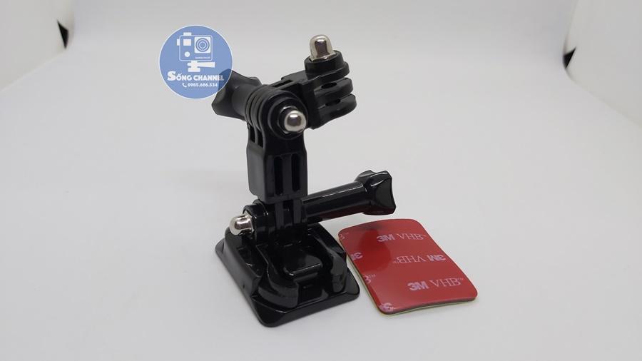 bộ gắn camera hành trình vào mũ bảo hiểm SM-01