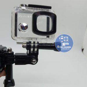 dễ dàng gắn camera vào mũ bảo hiểm