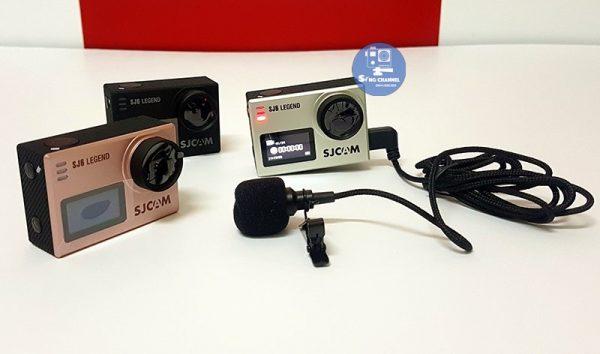 Micro cho camera sjcam sj6 legend, sj7, sj360