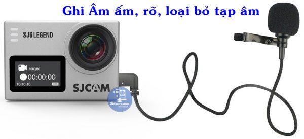Micro cho camera sjcam sj6 legend