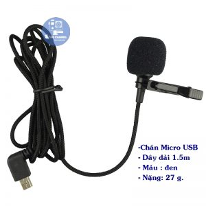 Micro cho camera sjcam sj6, sj7, sj360
