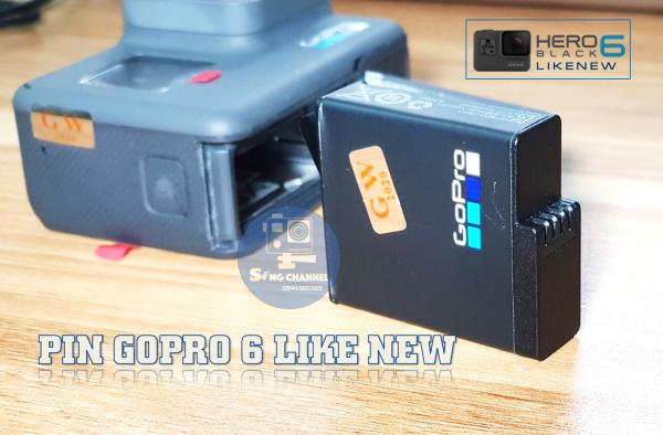 Trang bị Pin zin của Gopro 6