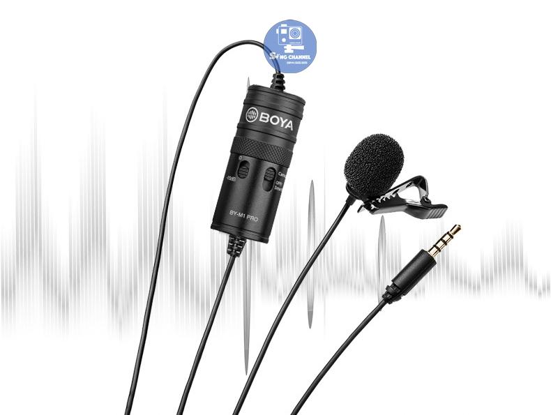 Boya BY M1 Pro dùng cho điện thoại hay các dòng máy ảnh, camera, máy quay phim đều được