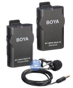 Micro thu âm cài áo không dây BOYA BY-WM4 II