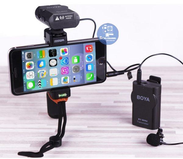 Mic Boya MW4 M II tương thích với hầu hết các dòng smarth phone
