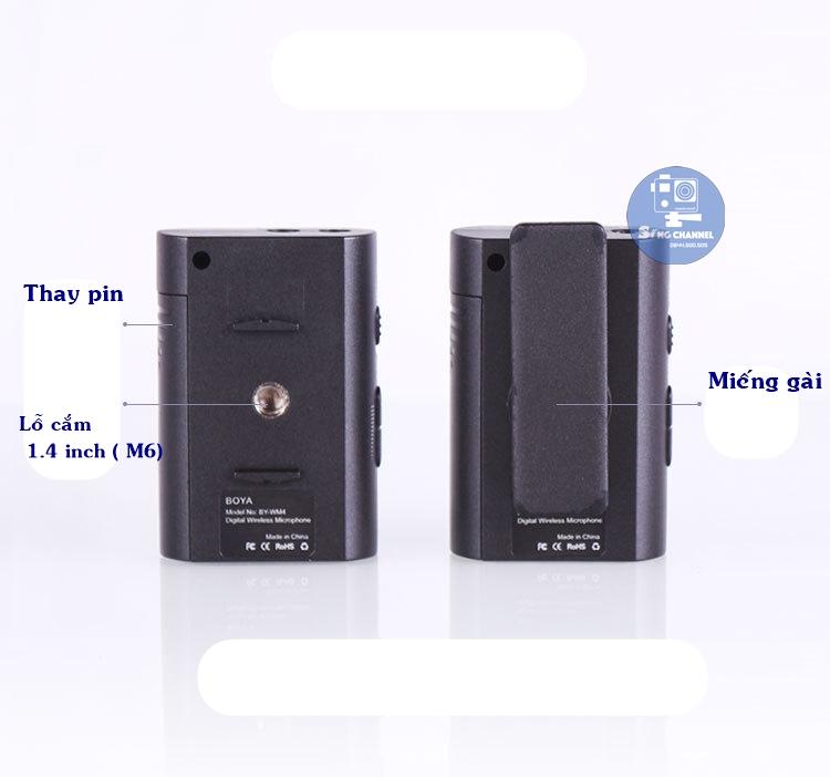 Micro cài áo boya MW4 MII