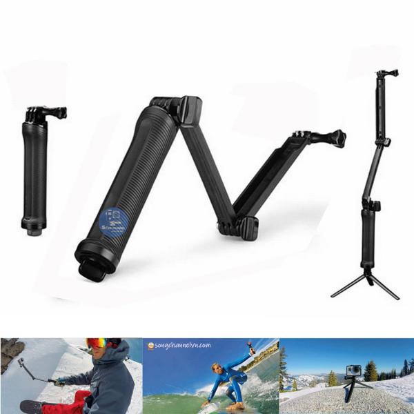 Mount được thiết kế tương thích với tất cả các loại Gopro Hero, Action Cam