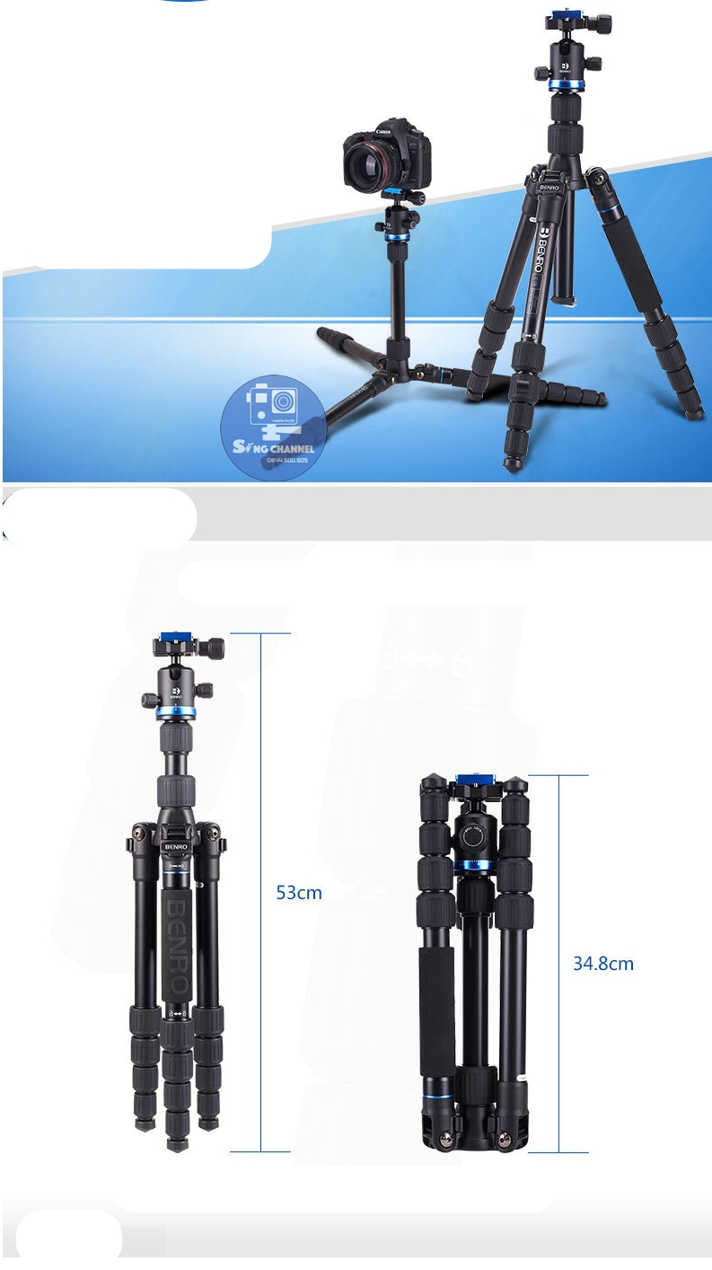 Tripod Benro IF19