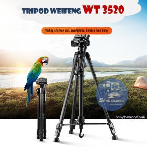Chân máy ảnh Tripod Weifeng WT-3520