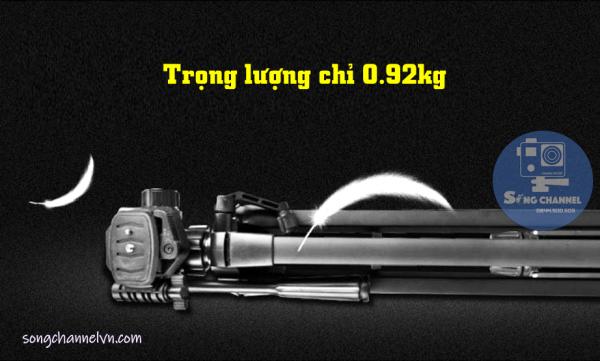 Trọng lượng Tripod Weifeng WT-3520