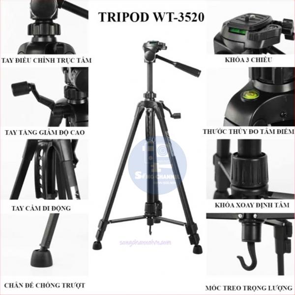Các bộ phận WT-3520