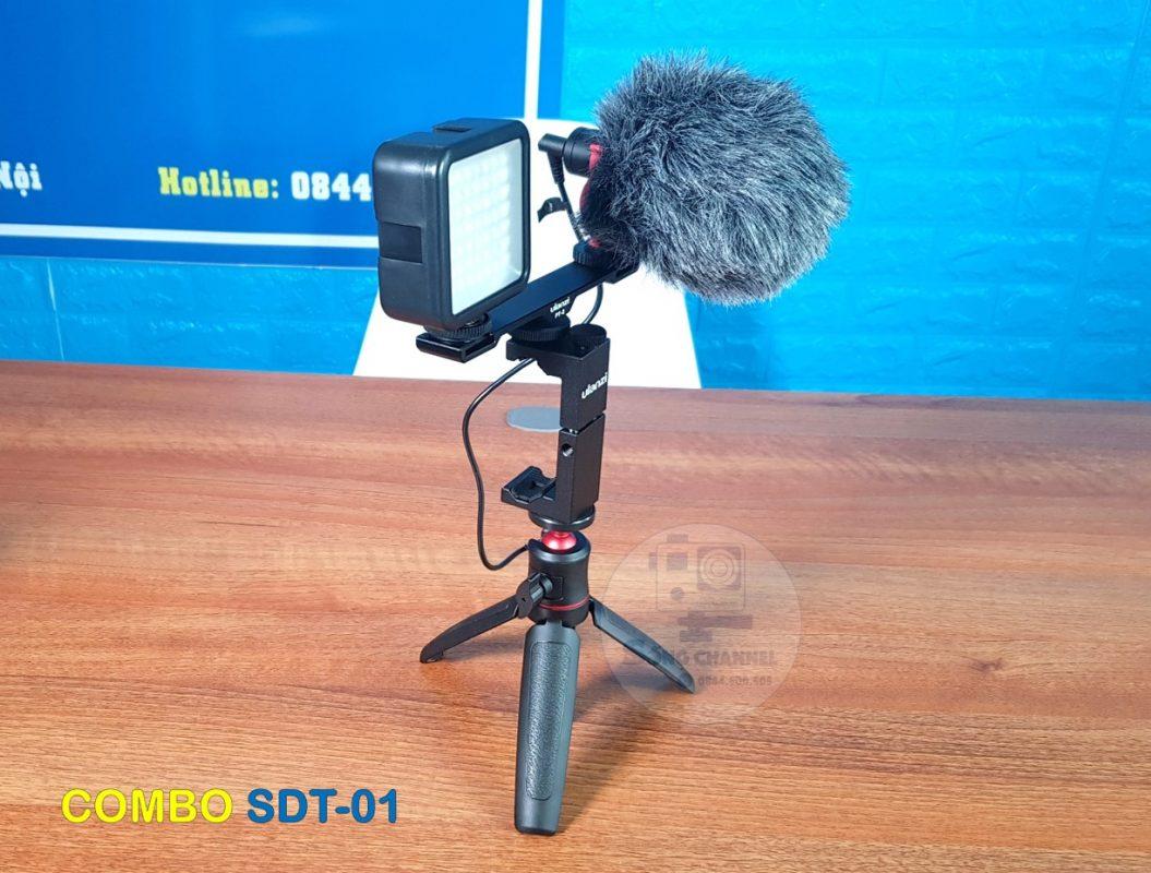 Combo Phụ Kiện Quay Phim Bằng Điện Thoại SDT-01