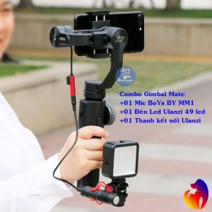 Combo Bộ Phụ Kiện Quay Phim GimBal Mate SGM-01