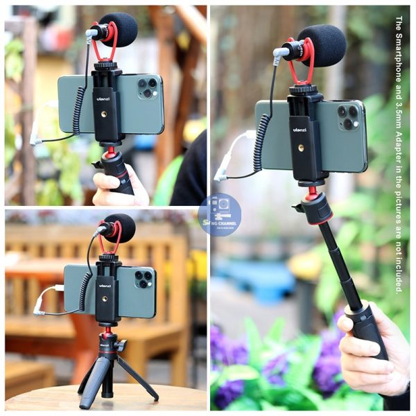 Combo bộ phụ kiện quay phim bằng điện thoại SDT-02