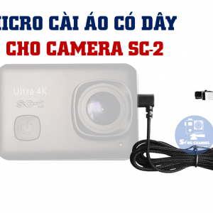 Micro Thu Âm cho Camera SC-2