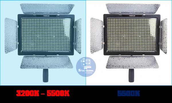2 phiên bản nhiệt độ màu của YN 600L
