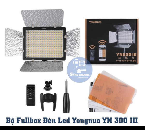 Bộ FullBox sản phẩm (Không kèm theo dây nguồn và pin)